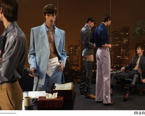 Mans Concept Menswear Spring Summer 2020 Campaign