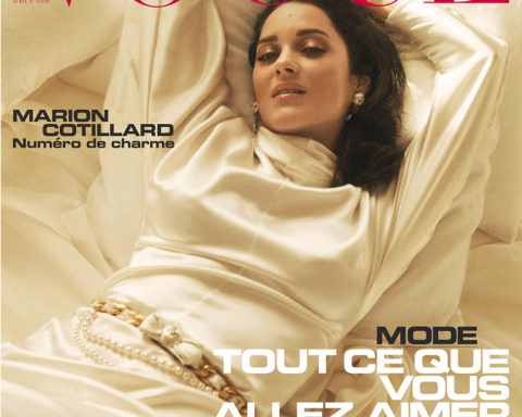 Marion Cotillard covers Vogue Paris April 2020 by Lachlan Bailey
