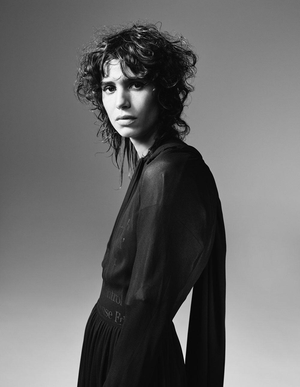 Mica Argañaraz covers Vogue Netherlands April 2020 by Willy Vanderperre
