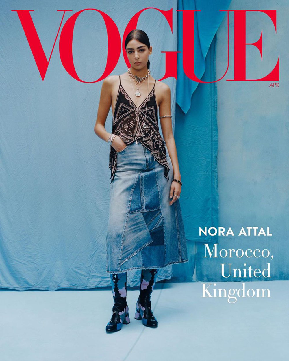Models from around the world cover Vogue US April 2020 by Tyler Mitchell