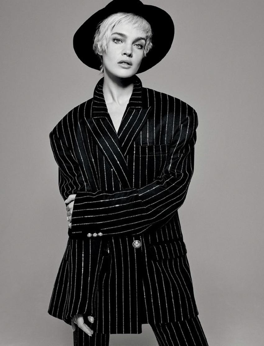 Natalia Vodianova and Lucas Portman cover Numéro Homme Spring Summer 2020 by Jean-Baptiste Mondino
