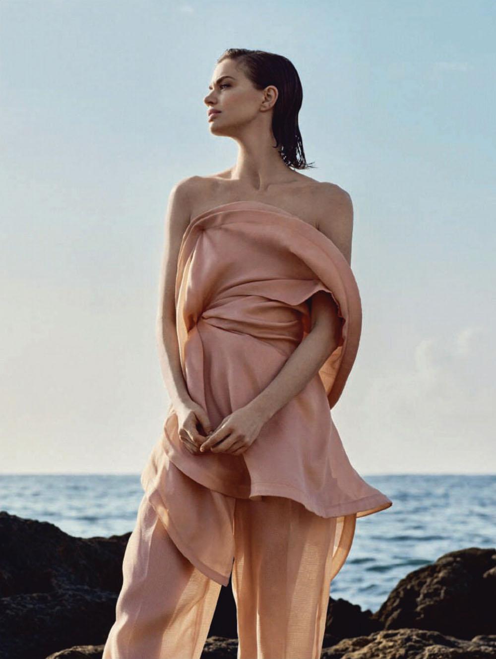 Rianne ten Haken by Javier Lopez for Harper's Bazaar Spain April 2020