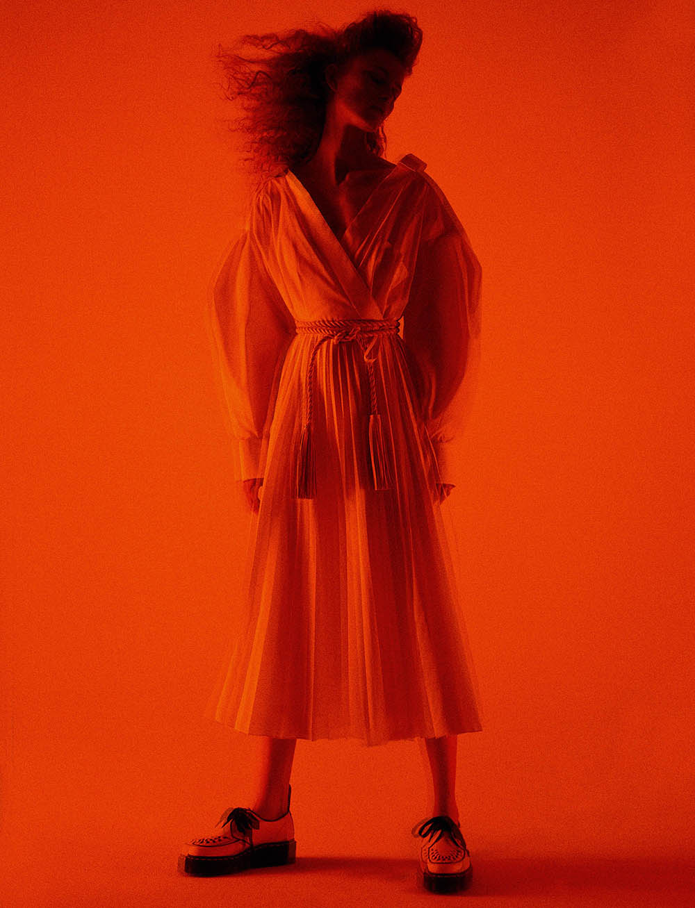 Rianne van Rompaey by Karim Sadli for W Magazine Volume 2 2020