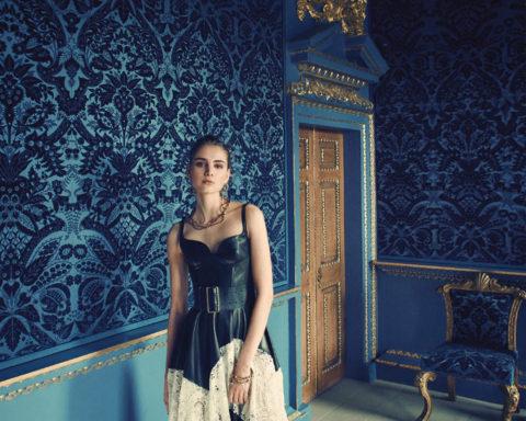 Romy Schonberger by Regan Cameron for Harper's Bazaar UK April 2020