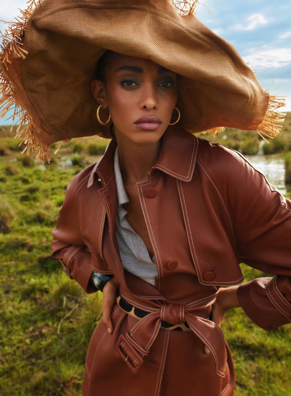 Samile Bermannelli by Morelli Brothers for Harper's Bazaar US April 2020