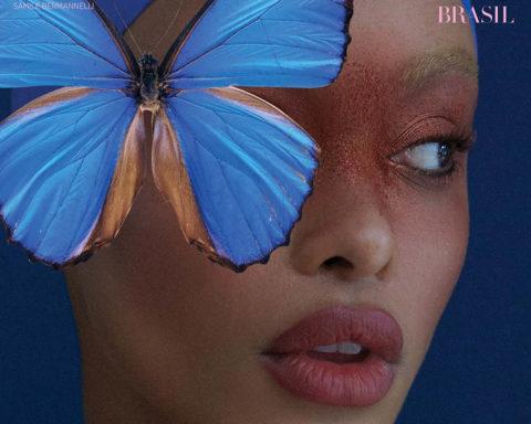 Samile Bermannelli covers Harper's Bazaar Brazil April 2020 by Alex Cayley