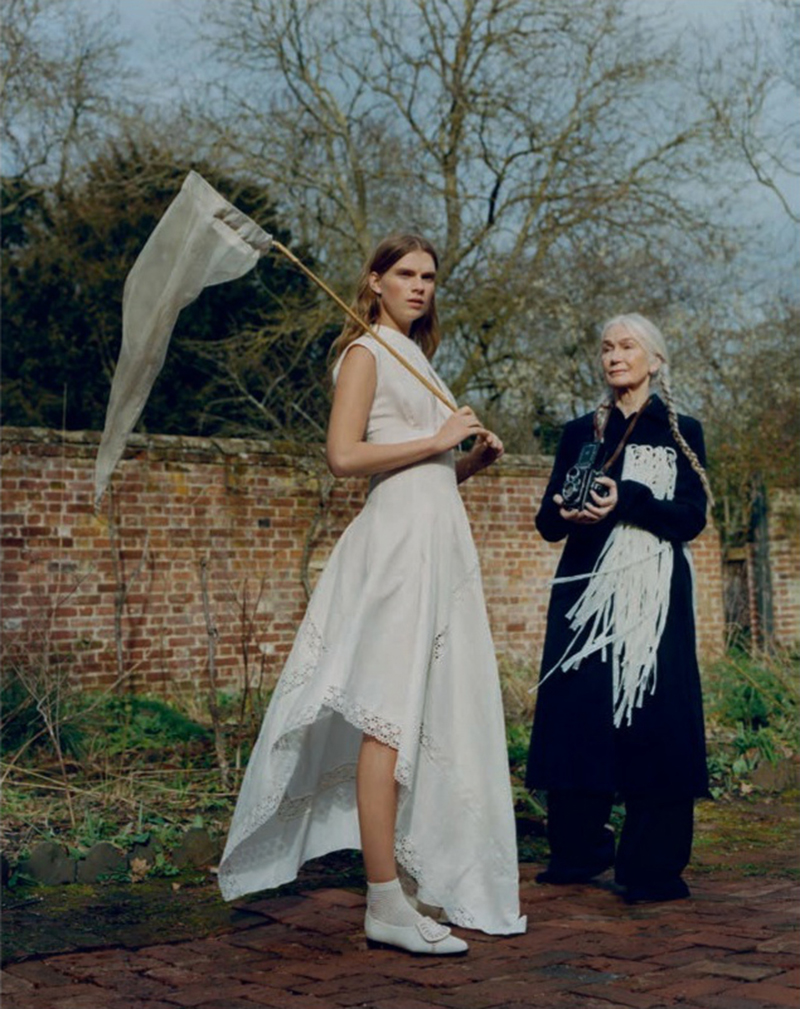 Sara Eirud and Stefanie Lange by Ben Weller for Vogue Spain April 2020