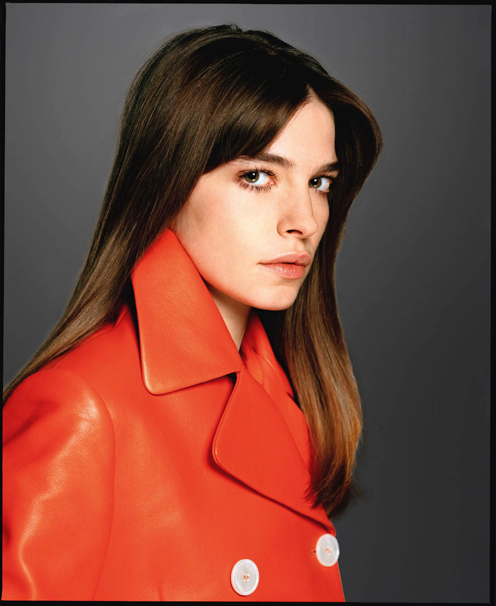 Scarlet Hayes by David Bailey for Tatler UK April 2020