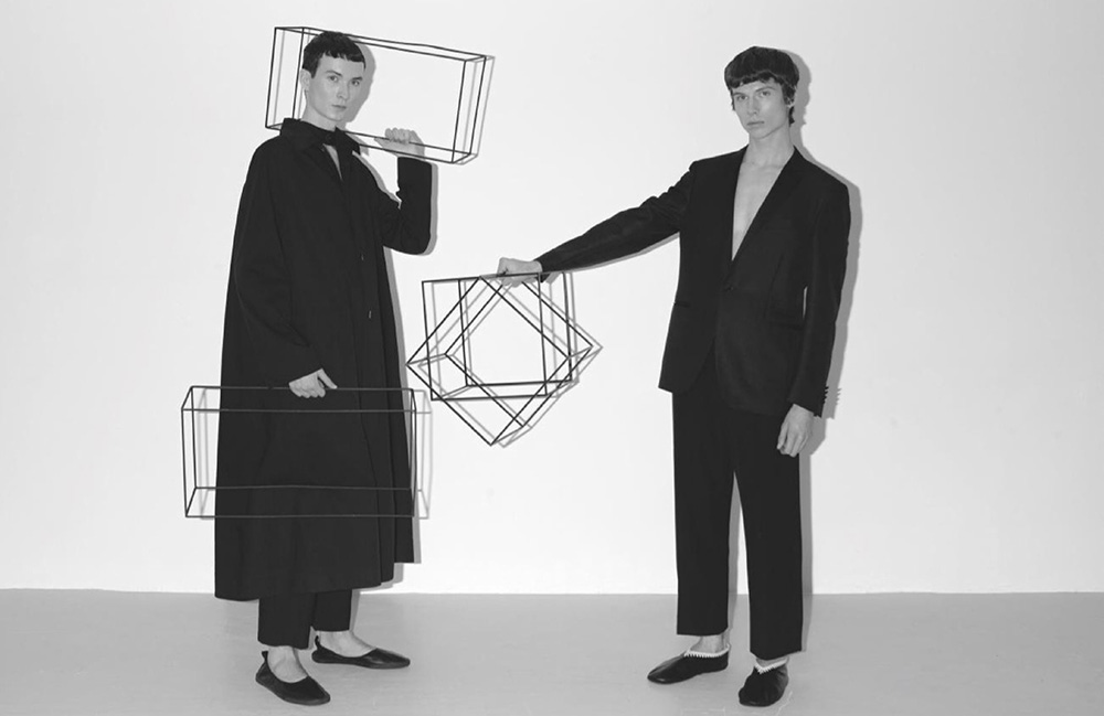 Sebas Jansen and Augusts Traumanis by Alex Colley for Wallpaper* Magazine May 2020