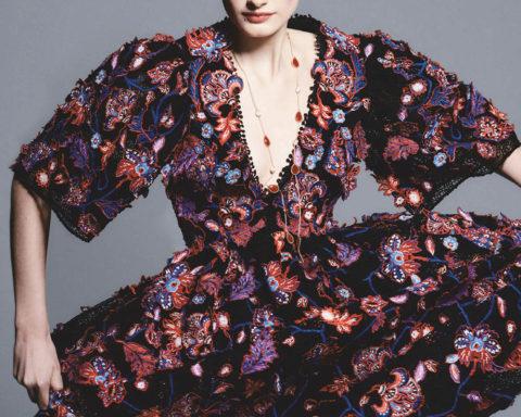 Signe Veiteberg by Chris Colls for Vogue Japan April 2020