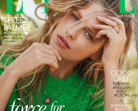 Teresa Palmer covers Elle Australia April 2020 by Max Doyle