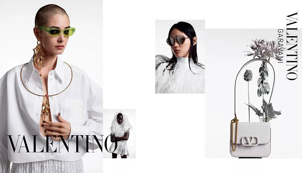 Valentino Spring/Summer 2020 ''Le Blanc'' Campaign