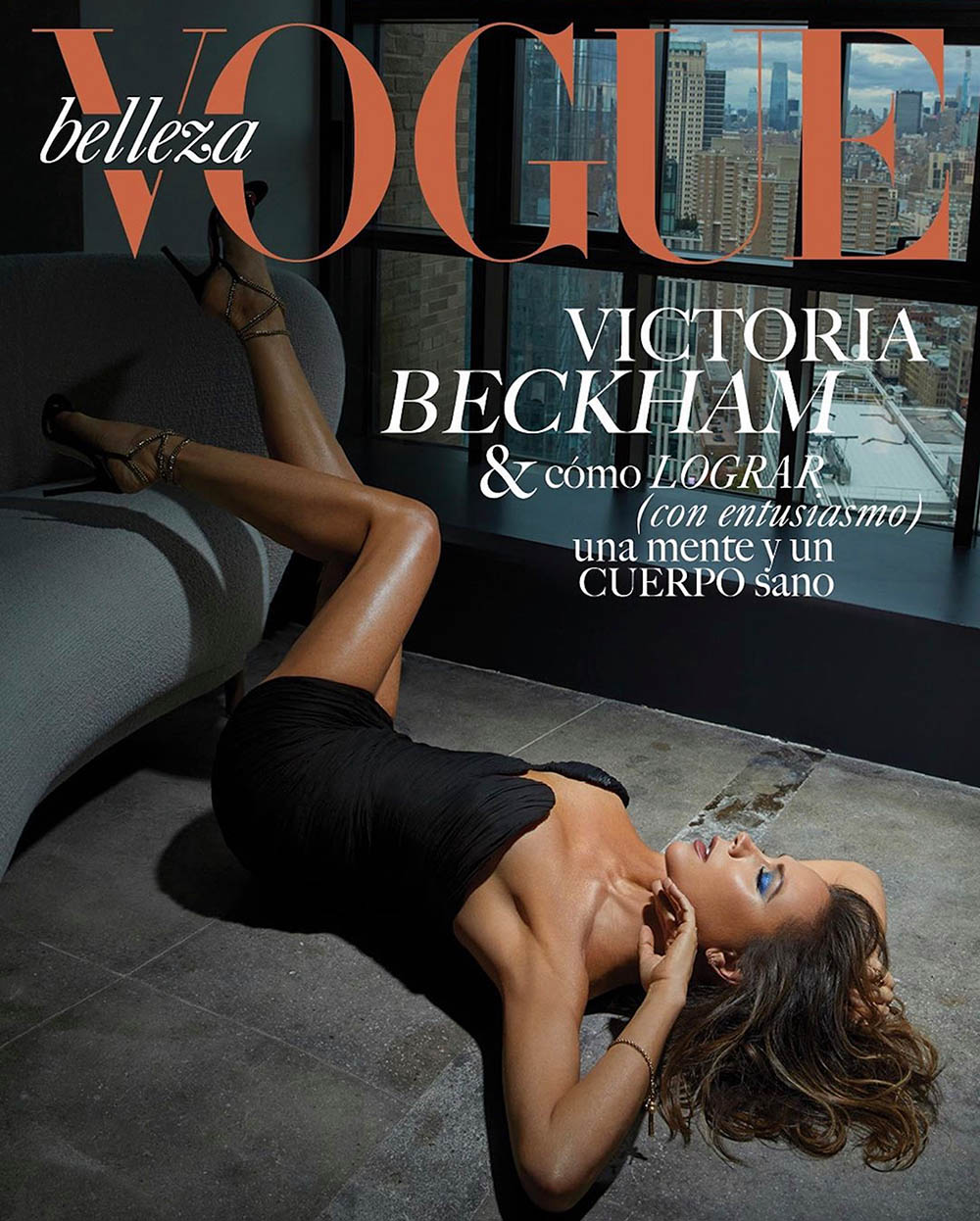 Victoria Beckham covers Vogue Belleza Mexico & Latin America April 2020 by An Le