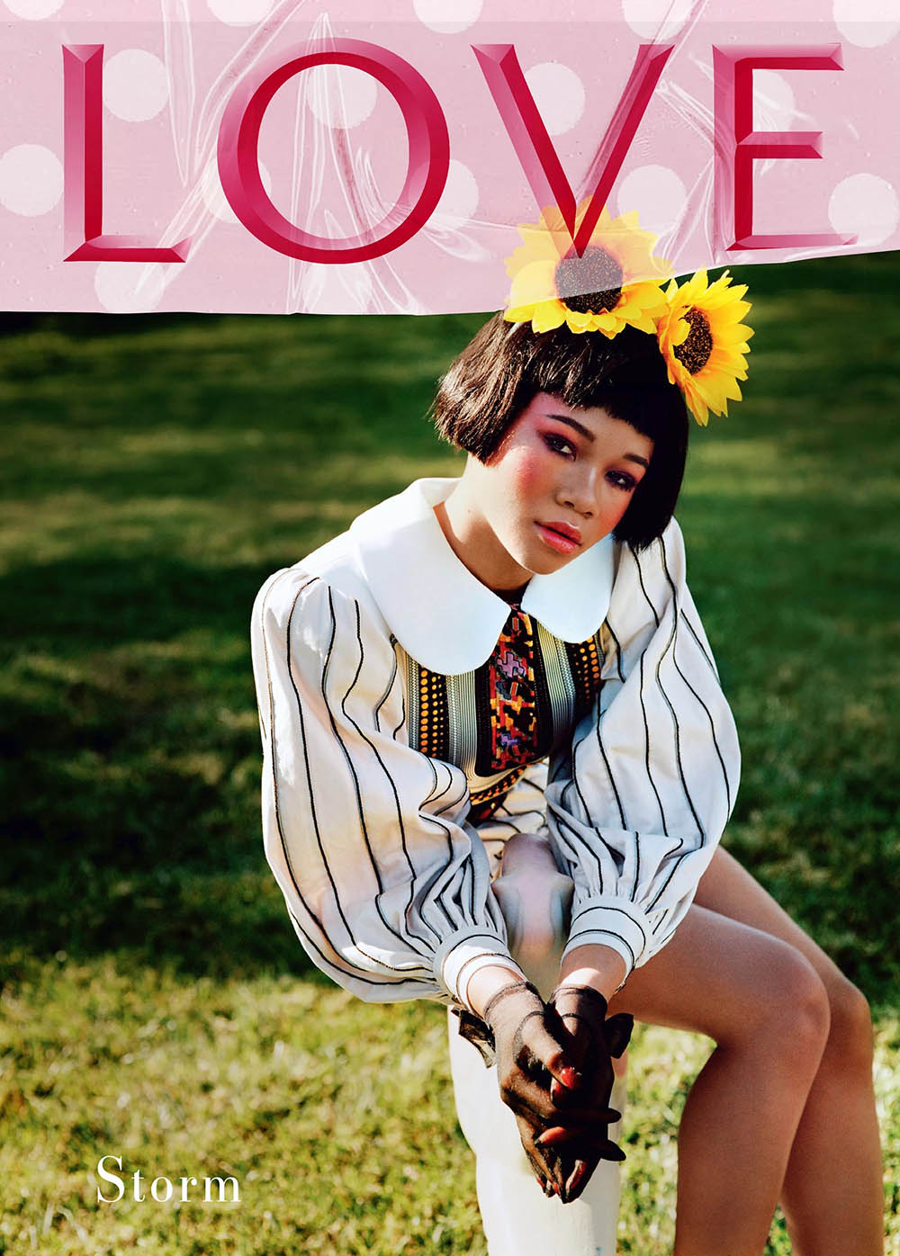 Zendaya and Storm Reid cover LOVE Magazine 23 by Alasdair McLellan