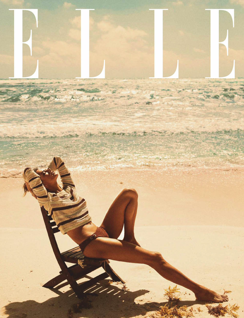 Alessandra Ambrosio covers Elle Spain May 2020 by Mario Sierra