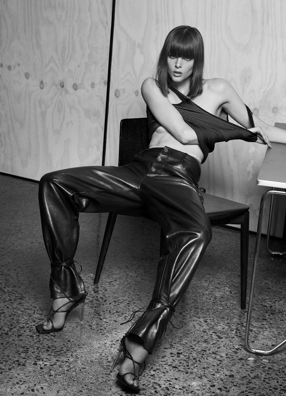 Aylah Peterson by Nicole Bentley for Harper's Bazaar Australia May 2020