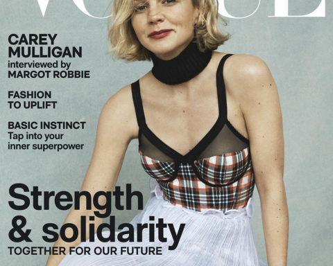 Carey Mulligan covers Vogue Australia May 2020 by Josh Olins
