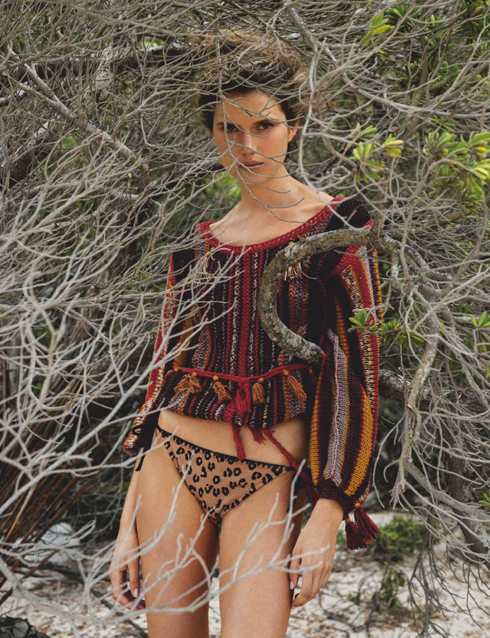 Cato van Ee by Gilles Bensimon for Elle Spain May 2020