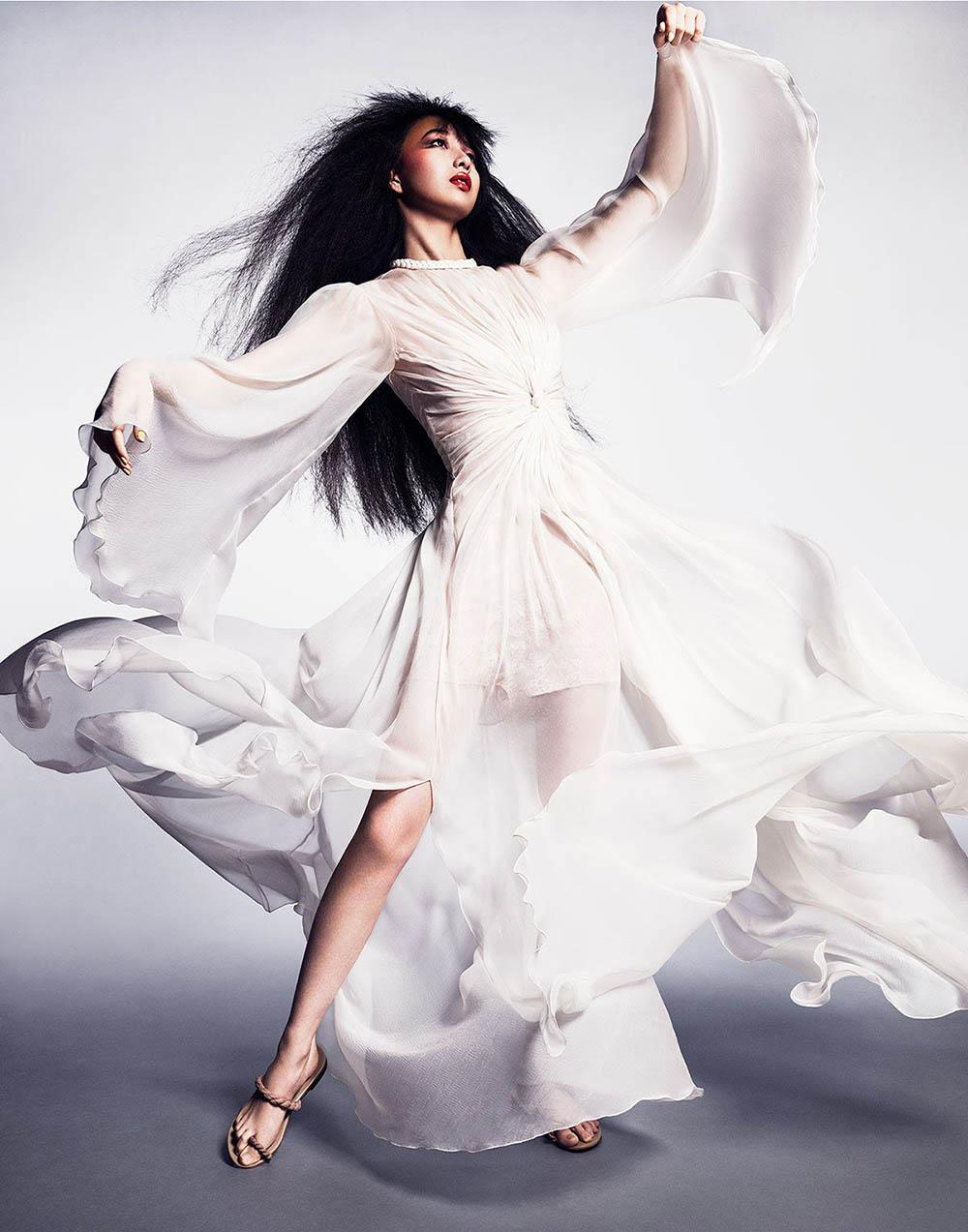 Cocomi covers Vogue Japan May 2020 by Luigi & Iango