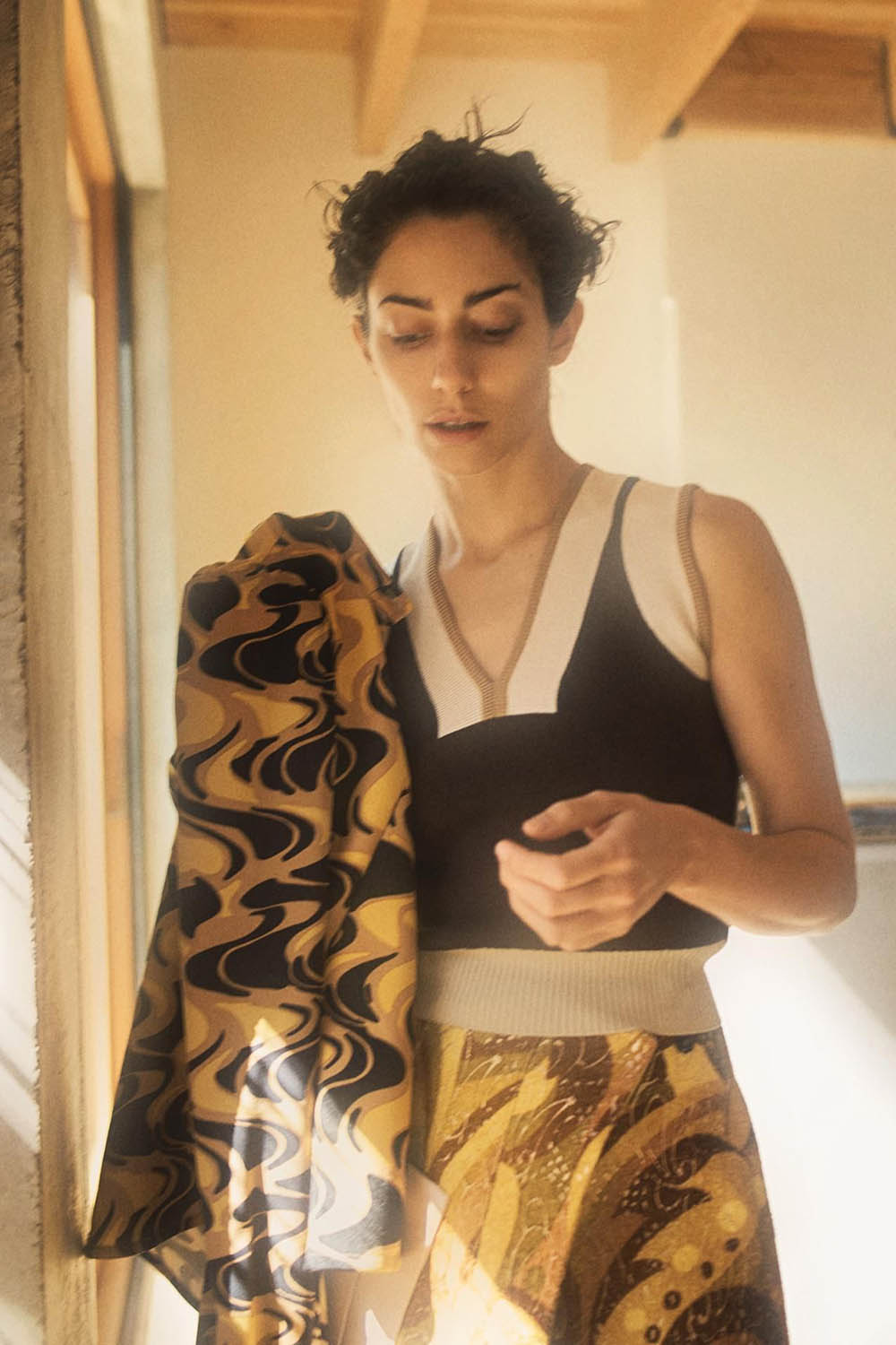 Conie Vallese by Josh Olins for WSJ. Magazine May 2020