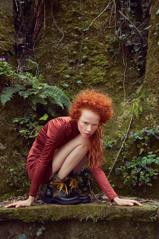 Dasha Vikhreva by Julio Barcena for Harper's Bazaar Mexico & Latin America May 2020