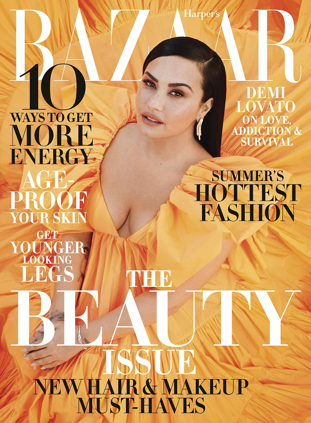 Demi Lovato covers Harper's Bazaar US May 2020 by Alexi Lubomirski