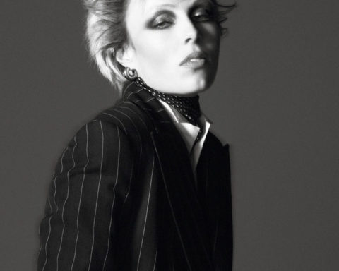 Edie Campbell by David Sims for Vogue Paris May June 2020