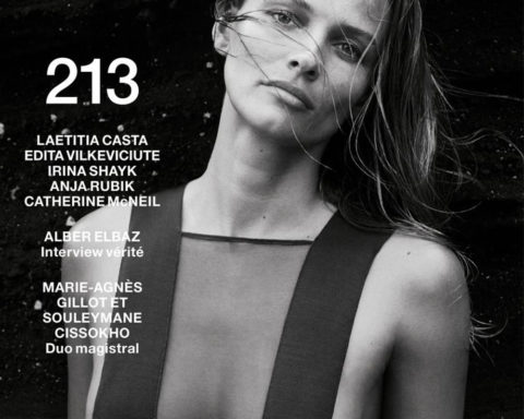 Edita Vilkeviciute covers Numéro May 2020 by Sebastian Kim