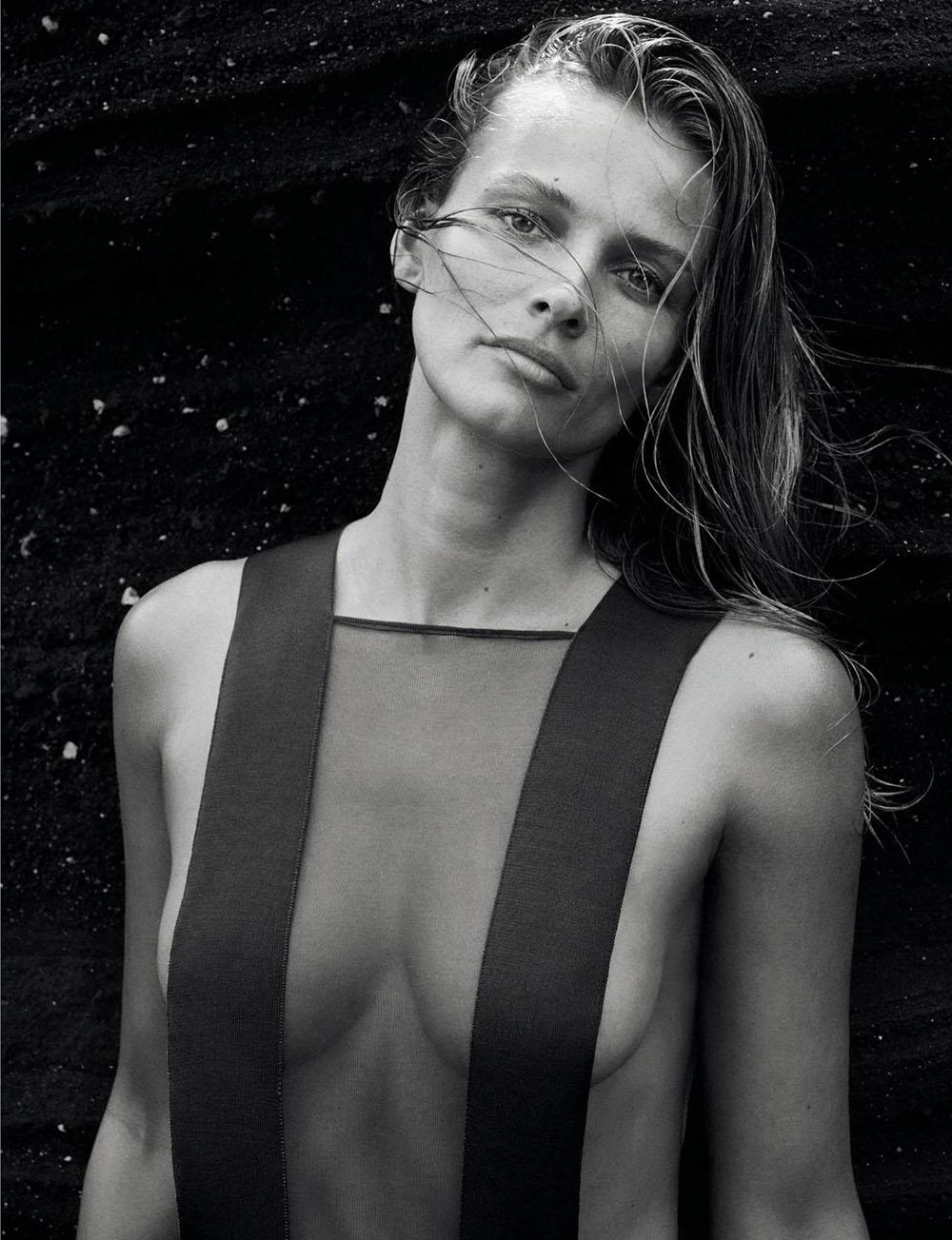 Edita Vilkeviciute covers Numéro May 2020 by Sebastian Kim