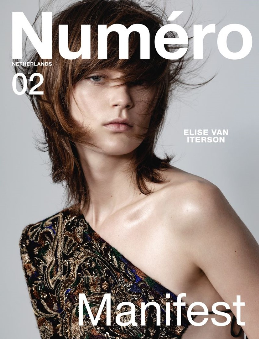Elise van Iterson covers Numéro Netherlands Spring Summer 2020 by Marco van Rijt