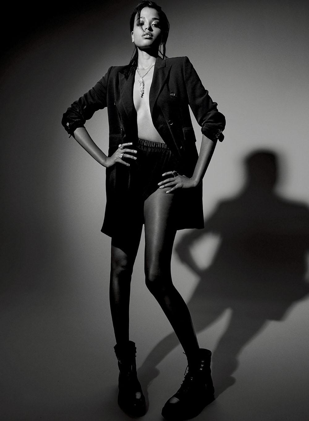 Ella Balinska by Max Papendieck for Elle US May 2020