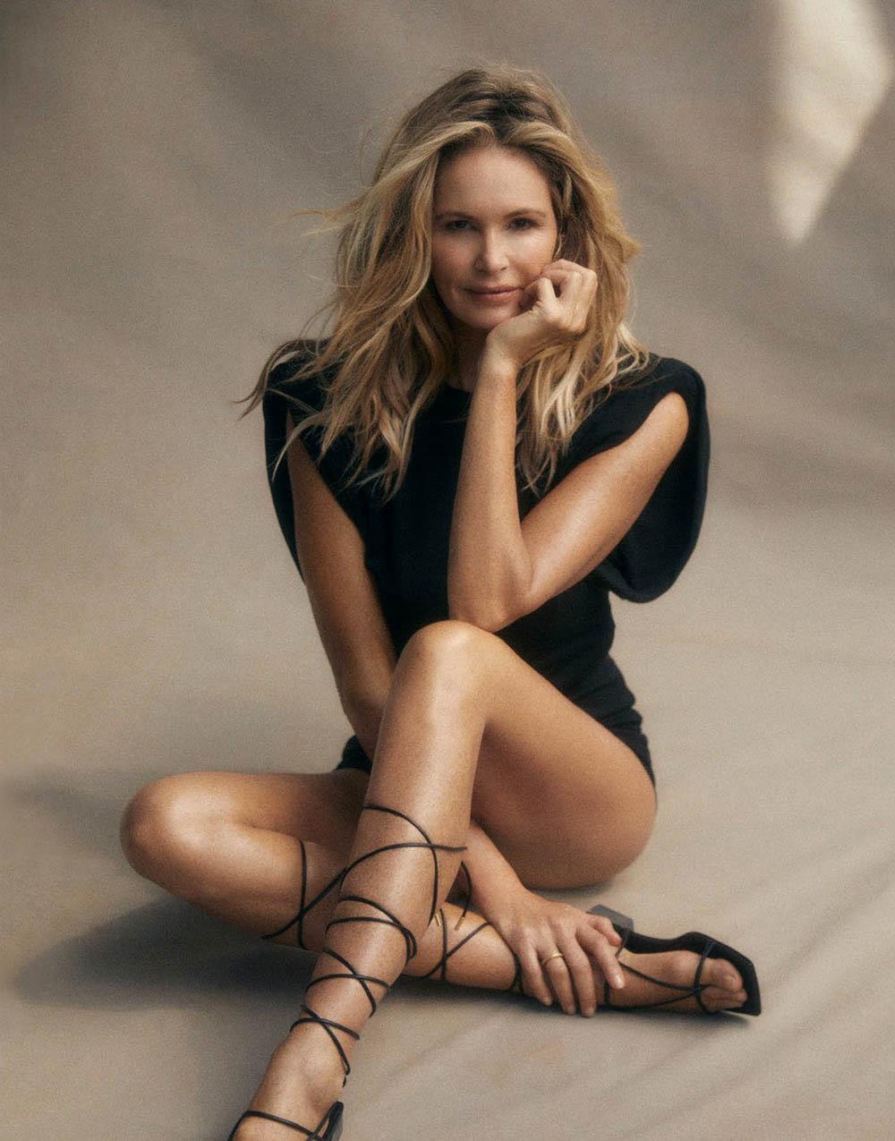 Elle Macpherson covers Harper's Bazaar Australia May 2020 by Darren McDonald
