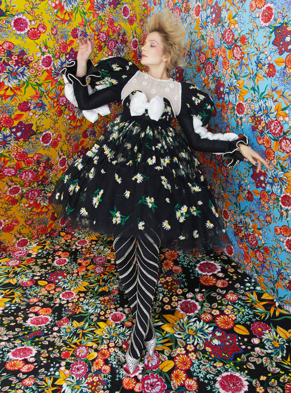 Eniko Mihalik and Kim Noorda by Erik Madigan Heck for Harper's Bazaar UK May 2020