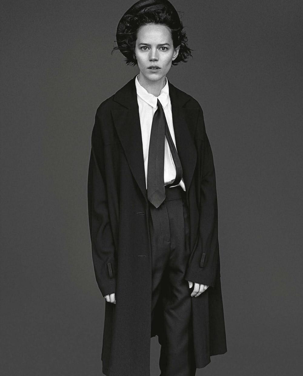 Freja Beha Erichsen covers Vogue Italia May 2020 by Alasdair McLellan