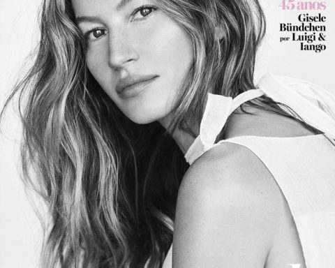 Gisele Bündchen covers Vogue Brazil May 2020 by Luigi & Iango