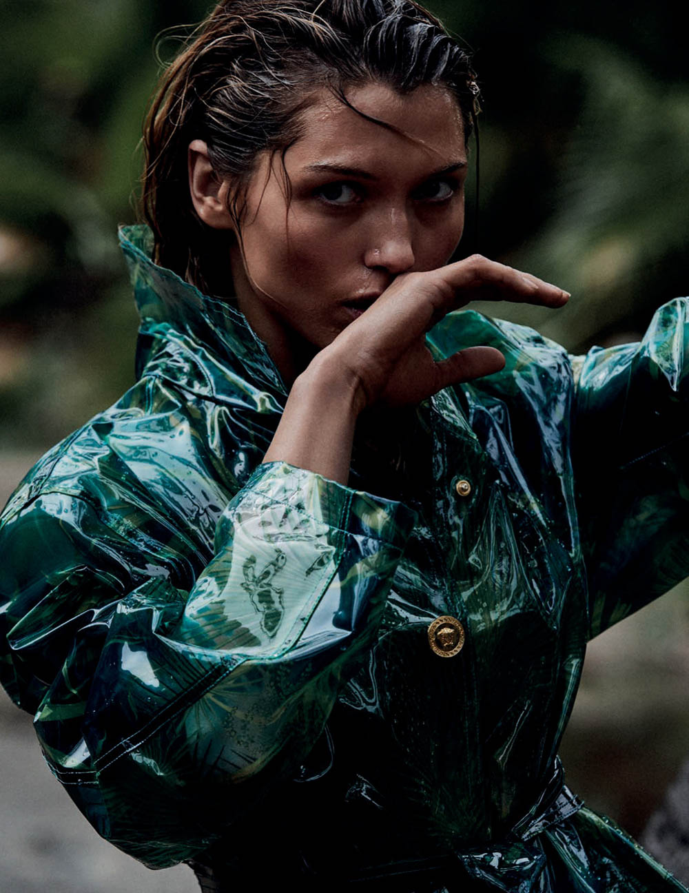 Hana Jirickova by Alvaro Beamud for Vogue Spain May 2020