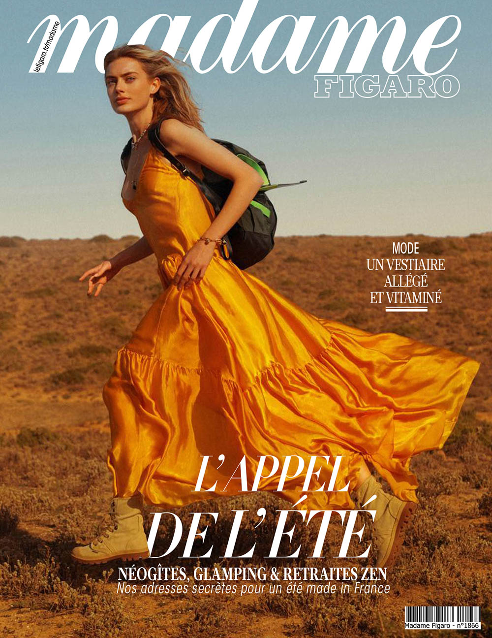 Hanna Verhees covers Madame Figaro May 29th, 2020 by Cédric Viollet
