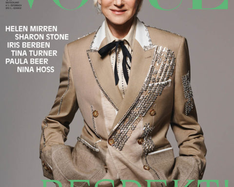 Helen Mirren covers Vogue Germany May 2020 by Liz Collins