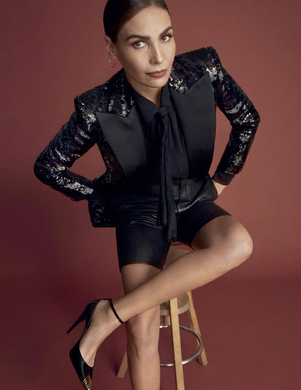 Inés Sastre covers Harper's Bazaar Spain May 2020 by Xavi Gordo
