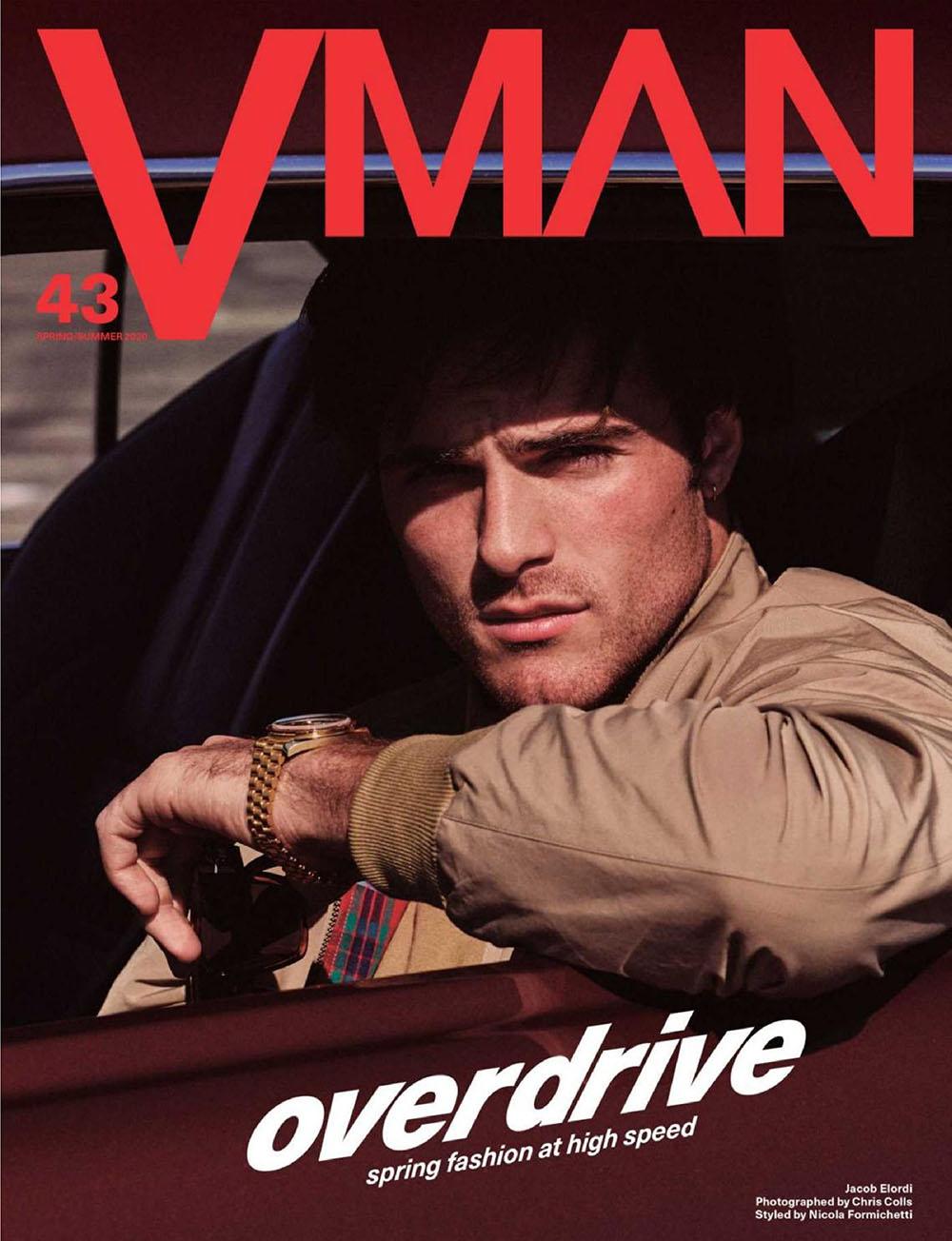 Jacob Elordi covers VMan Spring Summer 2020 by Chris Colls
