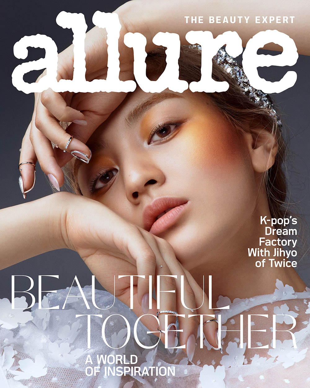 TWICE's Jihyo covers Allure US May 2020 by Ahn Jooyoung