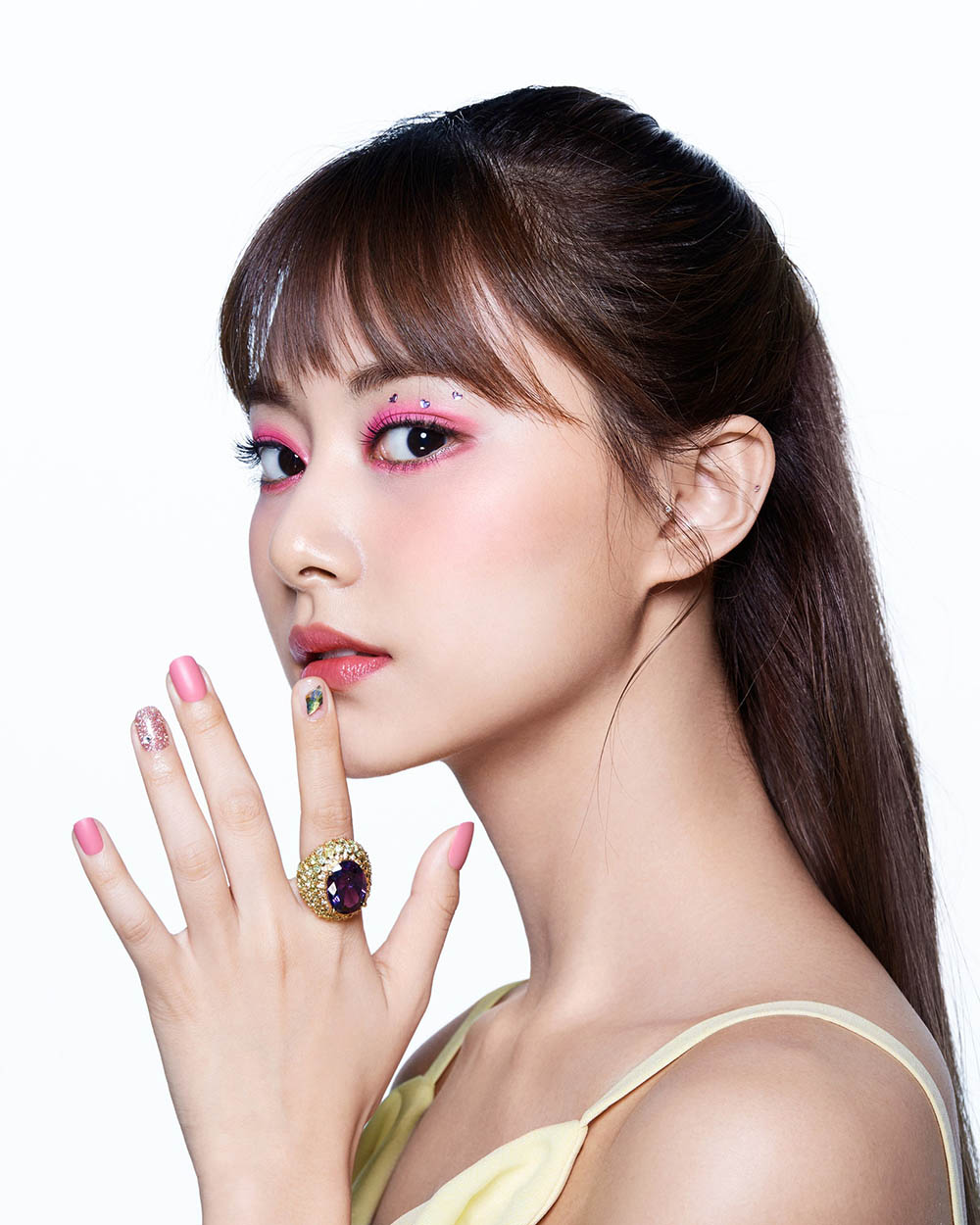 Jihyo covers Allure US May 2020 by Ahn Jooyoung