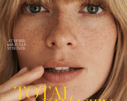 Julia Stegner covers Porter Magazine May 18th, 2020 by Benny Horne
