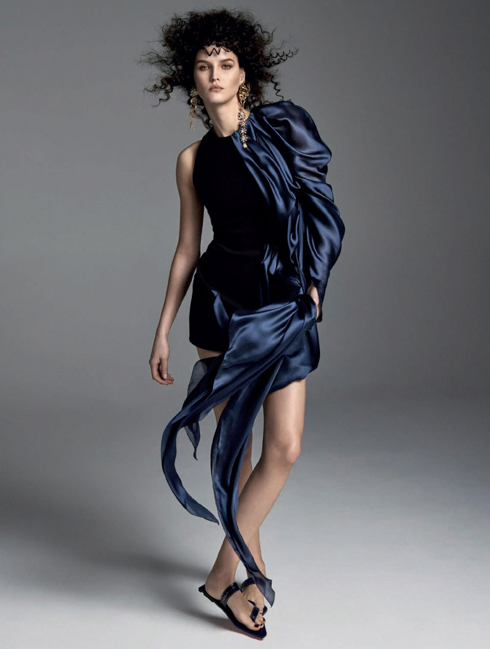 Kätlin Aas by Jonathan Segade for Harper's Bazaar Spain May 2020