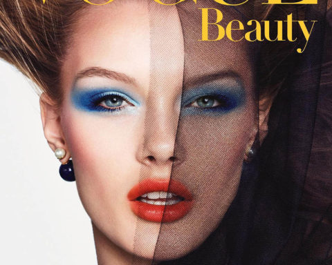Kris Grikaite covers Vogue Beauty Japan May 2020 by Luigi & Iango