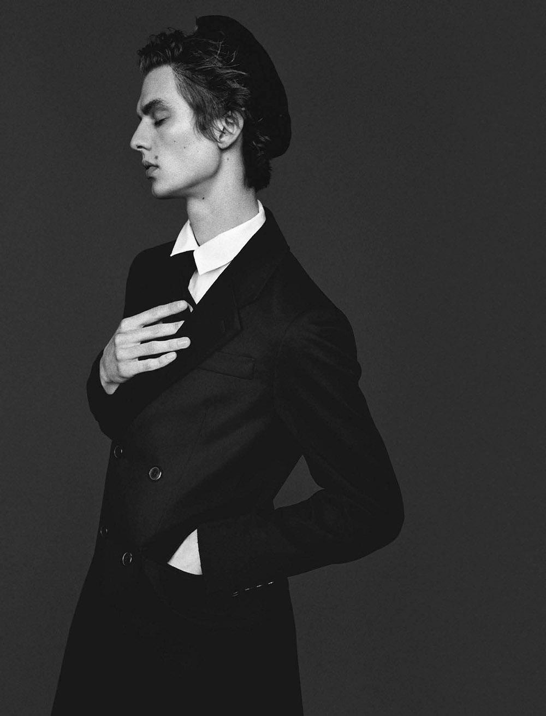 Leon Dame covers L'Uomo Vogue May 2020 by Alasdair McLellan
