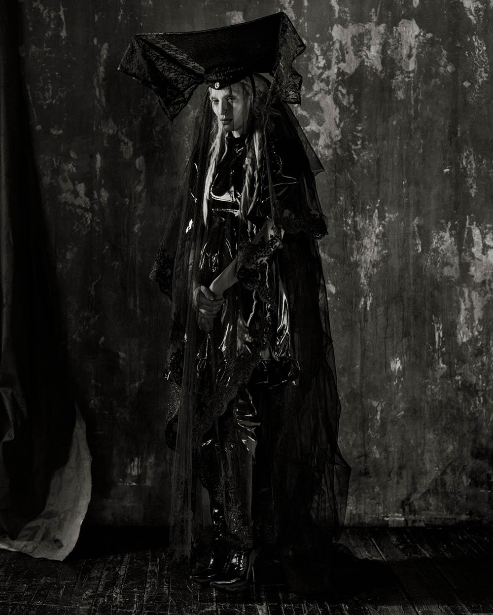 Maggie Maurer by Luis Alberto Rodriguez for Garage Magazine Spring Summer 2020