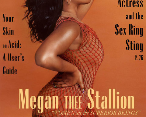 Megan Thee Stallion covers Marie Claire US May 2020 by Micaiah Carter