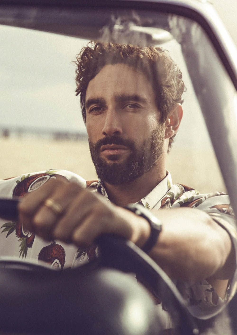 Noah Mills covers GQ Style Mexico & Latin America Spring Summer 2020 by Richard Ramos