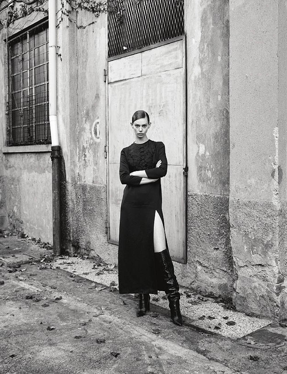 Ondria Hardin by Thomas Schenk for Amica Magazine May 2020